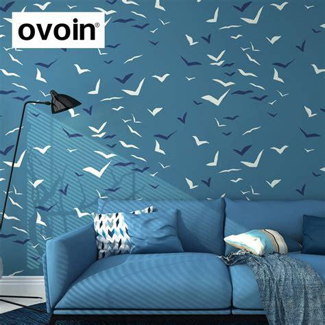 blue wallpaper roll aliexpress com buy wallpaper for walls in roll seagull