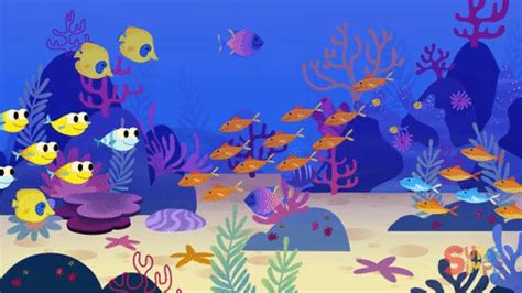 underwater wallpaper gif sea ocean gif by super simple find share on giphy
