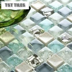 sea glass tile backsplash 11 sheets lot wholesale sea glass tiles mosaics blue white