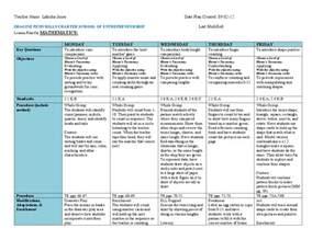 lesson plan template for social studies monday thru friday schedule template calendar template 2016