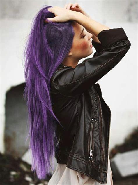 lila haarfarbe fuer einen extravaganten  archzinenet