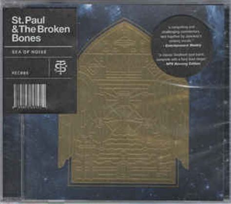 st paul and the broken bones sea of noise vinyl st paul the broken bones sea of noise cd album at