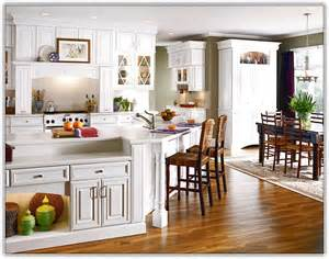 lovely Small Cabinets For Kitchen #1: kitchen-ideas-for-small-kitchens-with-white-cabinets.jpg