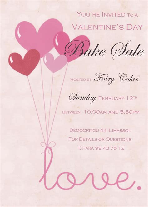 free valentines day flyer templates 7 best images of flyer template free printable