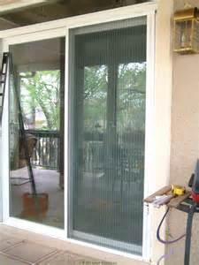 Retractable Patio Doors Plisse Sliding Glass Retractable Door Screens Retractable Screen Door By Screen Solutions