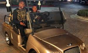 Bentley Middle Finger Ad Floyd Mayweather Flaunts His Wealth Yet Again As He