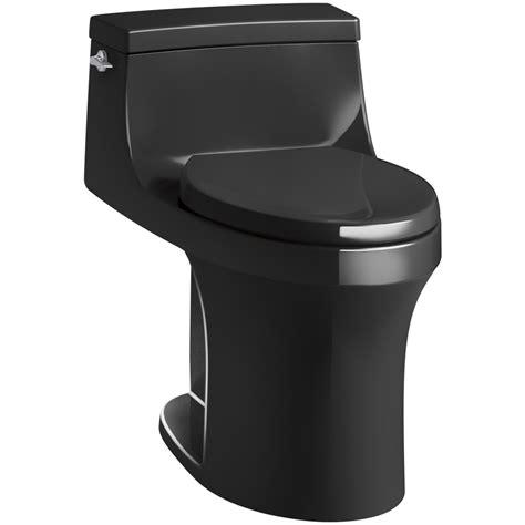 black toilet shop kohler san souci black black 1 28 gpf 4 85 lpf 12