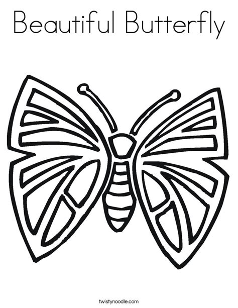beautiful coloring pages of butterflies beautiful butterfly coloring page twisty noodle