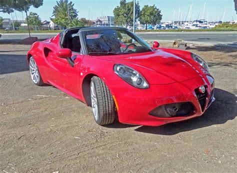 Alfa Romeo Roadster by 2015 Alfa Romeo 4c Spider Roadster Test Drive Nikjmiles