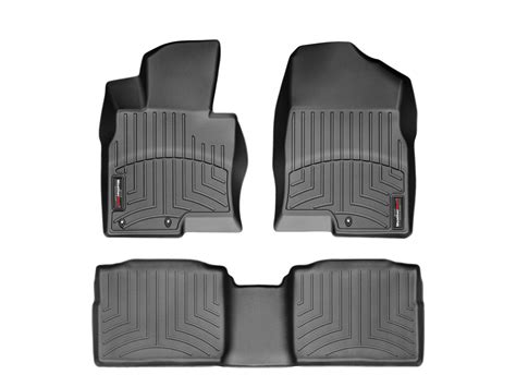 weathertech 174 floor mat floorliner for kia optima 2011 2015 black ebay