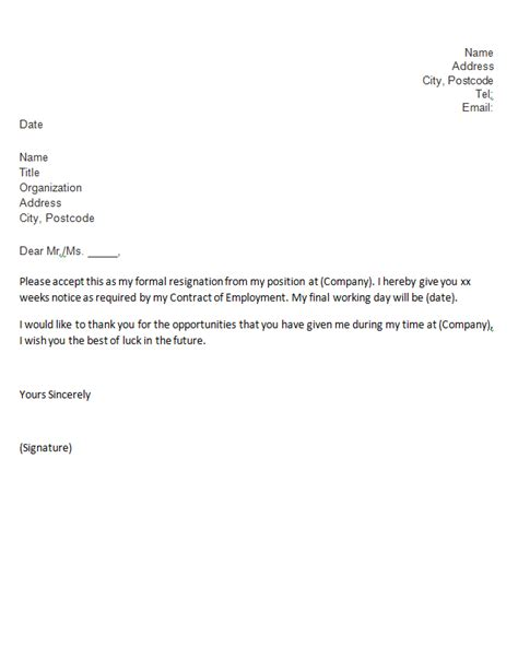 Sle Resignation Letter Uk by Sle Resume Cover Letter Best Resume Cover Letter