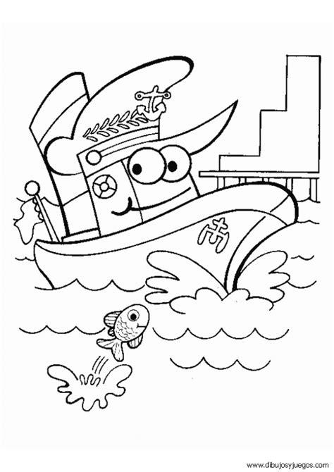imagenes para colorear barco dibujo de barcos para colorear 007 dibujos y juegos