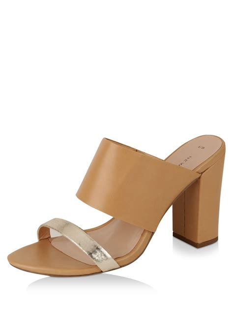 Block Heel Mules buy new look block heel mules for s