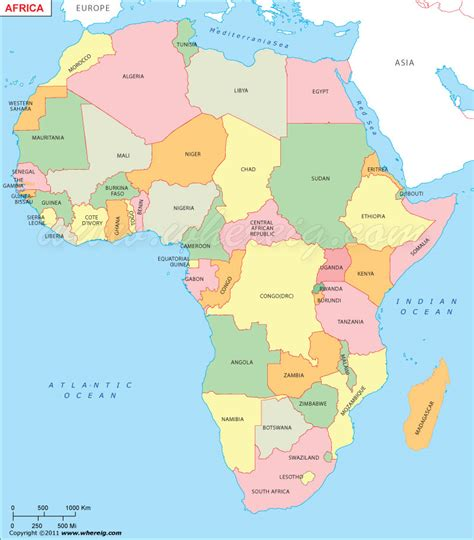 Countries Of Africa Map by Map Of Africa Only Countries Deboomfotografie