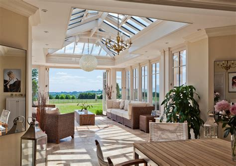 light filled sitting room conservatory traditional