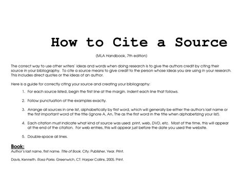 how to properly cite a research paper citing sources in mla style enc1102 libraryinstruction