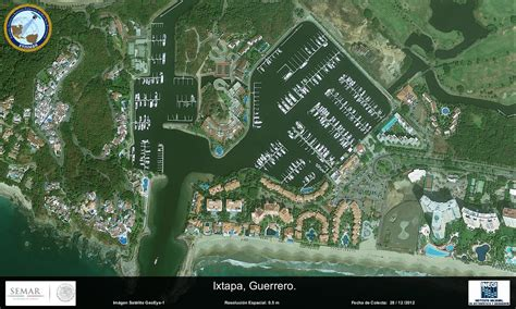 imagenes satelitales conabio imagen satelital de ixtapa guerrero