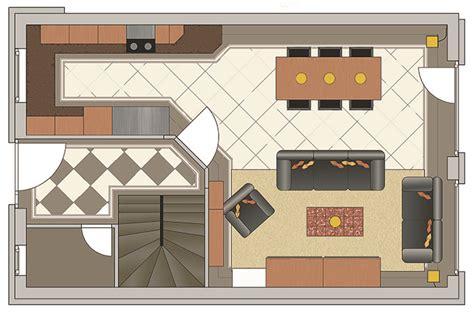 Küche Mit Speisekammer Grundriss by K 252 Che Idee Grundriss