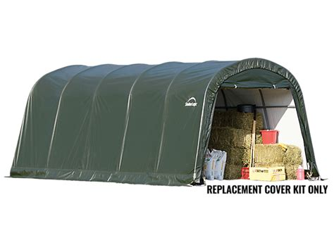 Deck Boxes Canada by Replacement Cover Kit For The Garage In A Box Roundtop 174 12