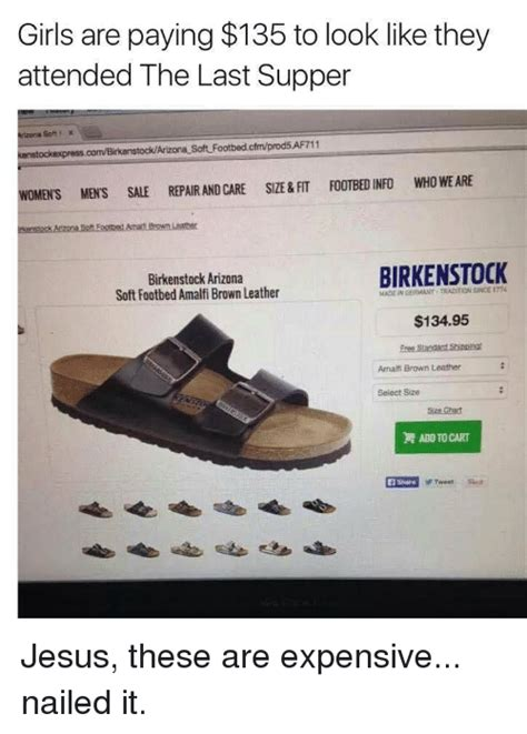 Birkenstock Meme - girls are paying 135 to look like they attended the last