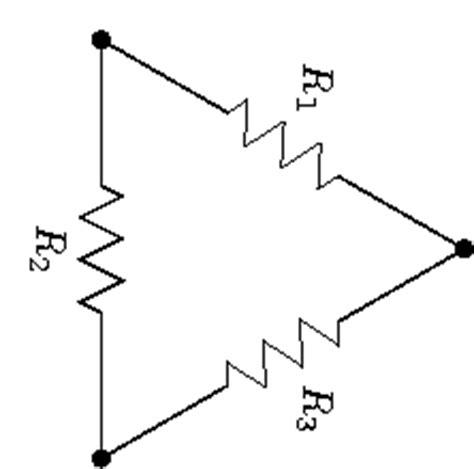resistors connected in delta the bridge resistor circuit electrical engineering learn electrical engineering for beginners