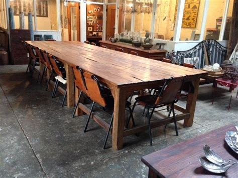 16 seater dining table 16 seater recycled timber dining table mulbury