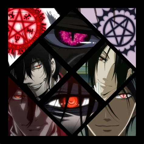 anime heaven black butler hellsing alucard vs black butler sebastian l