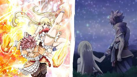 fairy tail dragon cry 191 natsu x lucy juntos y unidos team