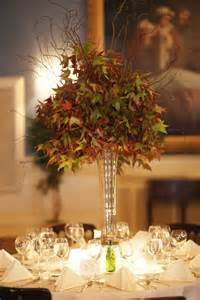Trumpet Vase Centerpieces Wedding Wednesday Feels Like Fall Beautiful Blooms