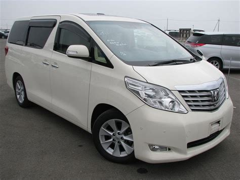 Toyota Leasing Philippines Toyota Alphard 3 5 2008 Technical Specifications