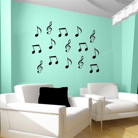 notes wall stickers note wall decals note wall decor