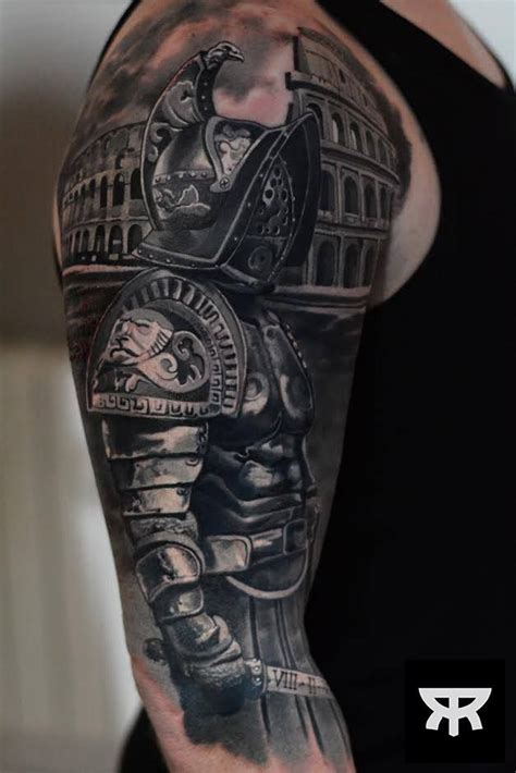 roman warrior tattoo designs best 25 gladiator ideas on spartan 300