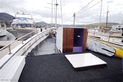 fishing boats for sale tas tom tucker 50 tas timber fishing boat quot katie louise