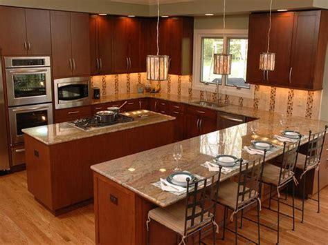 Houzz Kitchen Islands Bloombety Classic U Shaped Kitchen Layout U Shaped