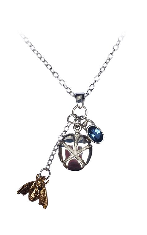Jims Honey Tifanny Bag Gold s necklace discworld