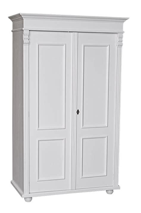 armoire penderie et etagere armoire 2 portes l 109 cm en pin massif pays basque