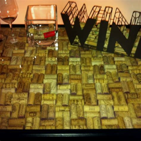 wine cork bar top bar top made of corks man room pinterest tops bar and corks