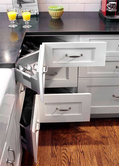 corner drawer kitchen cabinet 30 corner drawers and storage solutions for the modern kitchen