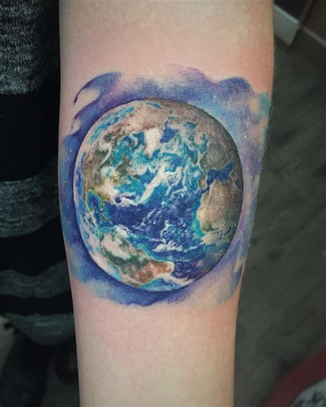 planet earth tattoo designs planet designs ideas and meaning tattoos for you