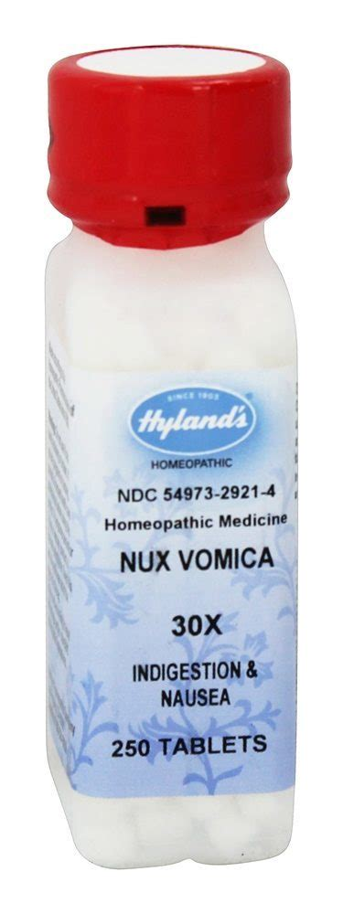 Nux Vomica And Detox Homeopathy by Buy Hylands Nux Vomica 30 X 250 Tablets At