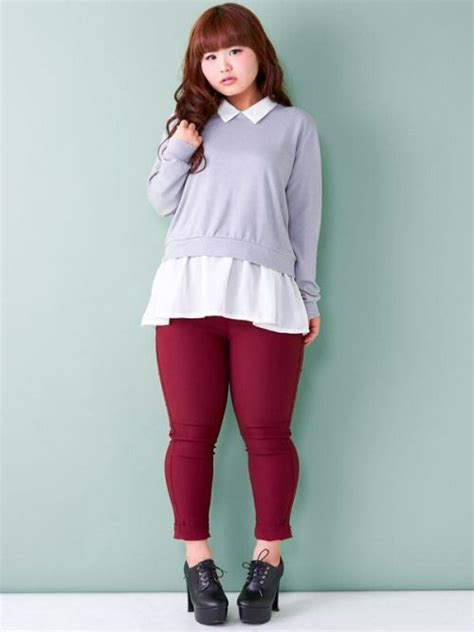 casual model girl casual japanese girl look plus size fashion pinterest