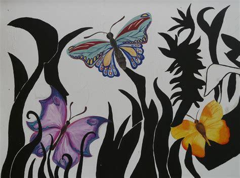 wandgestaltung kinderzimmer junge und mädchen lila zimmer