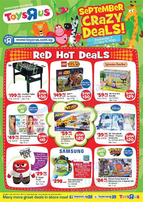 foosball table toys r us toys r us september deals offers 19 sep 5 oct 2015