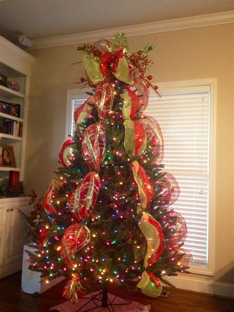 tree topper christmas deco mesh christmas pinterest