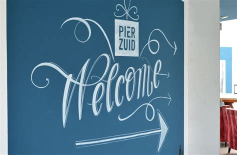 pier zuid letterhand marlis zimmermann ontwerp en handmatige