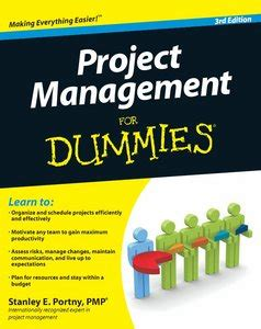 Project 2010 For Dummies project management for dummies 3 edition free ebooks