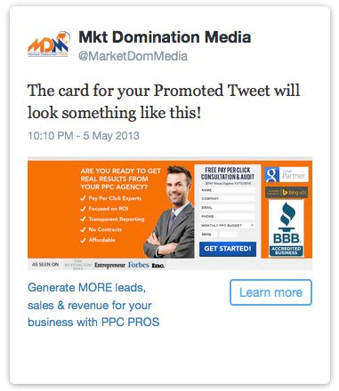 Lead Generation Cards Image Size