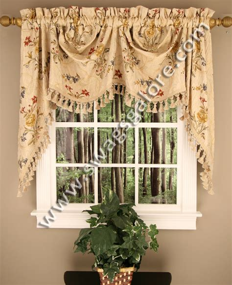 kitchen curtains swags jewel valance and jewel austrian valance swags galore