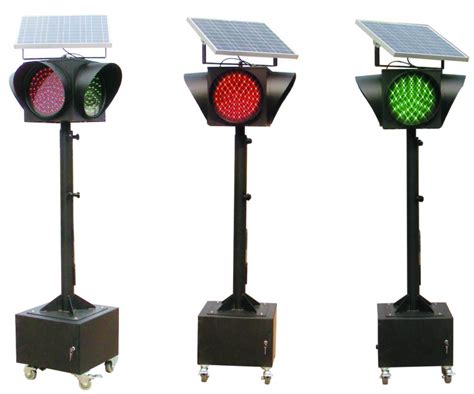 China Solar Led Traffic Light Hnst Mf12 China Solar Solar Traffic Lights Manufacturers