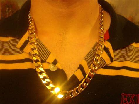 cadenas de oro gruesas para hombre cadena gruesa 60cm x 12mm oro laminado 18k incluye estuche